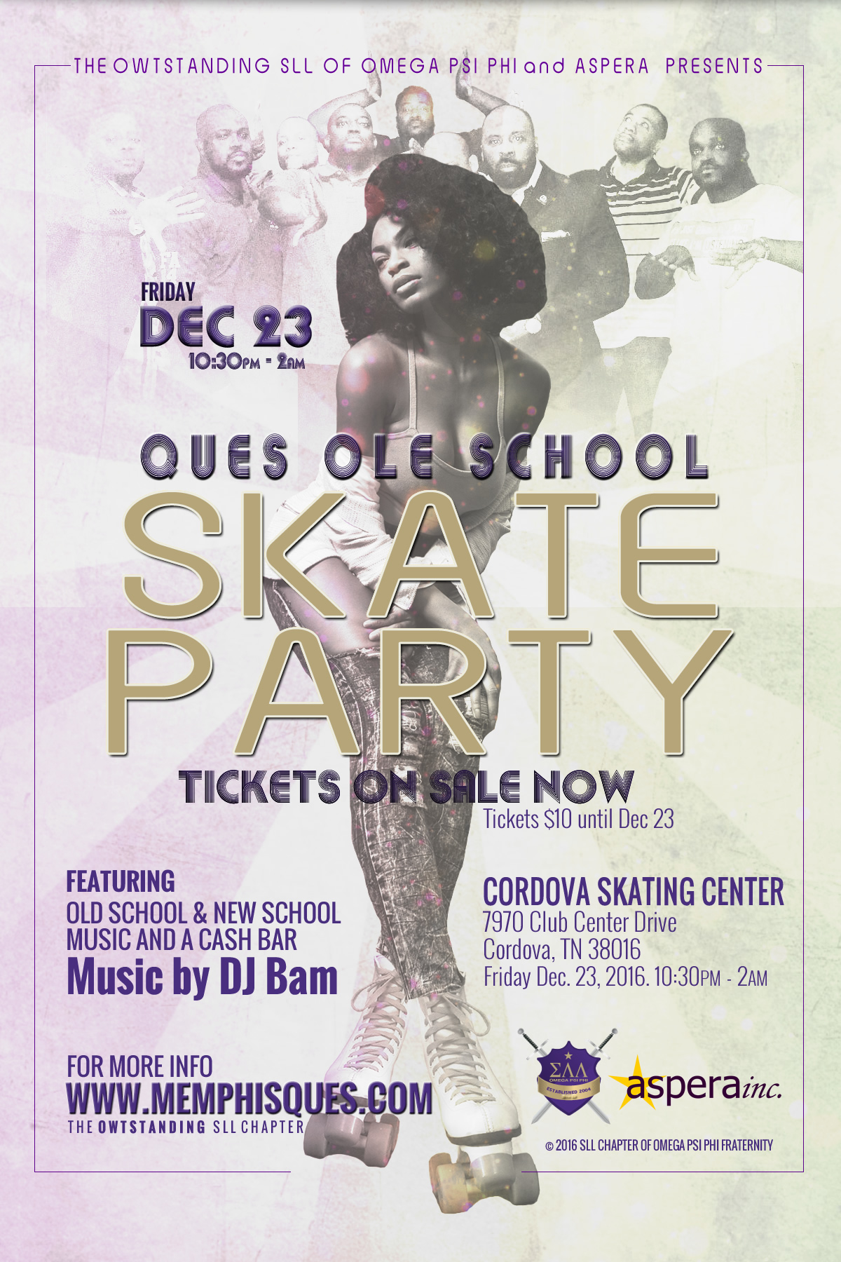 Ques Ole School Skate Party